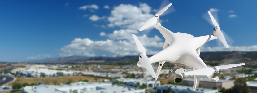 Commercial Drones Hover Just Around the Corner