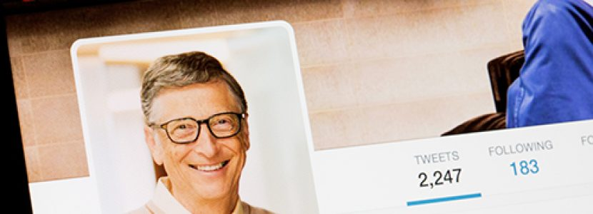 Follow Bill Gates to Big Opportunities